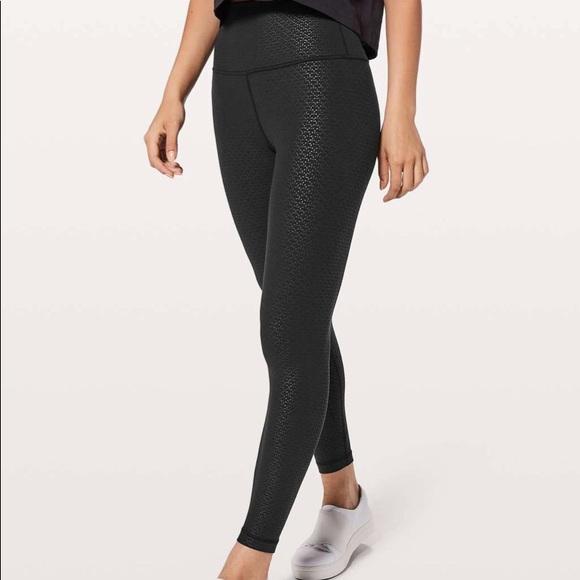 10a6f5cd5a lululemon athletica Pants | Lululemon Align Pant Ii 25 Monochromatic ...